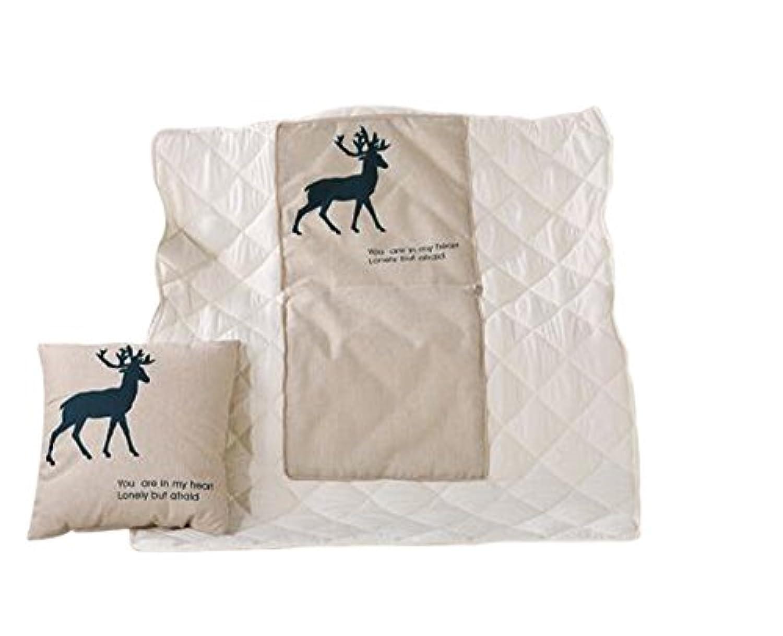ファッションディアーの旅の果物の枕は、オフィスで使用ランチブレイク子供キルト