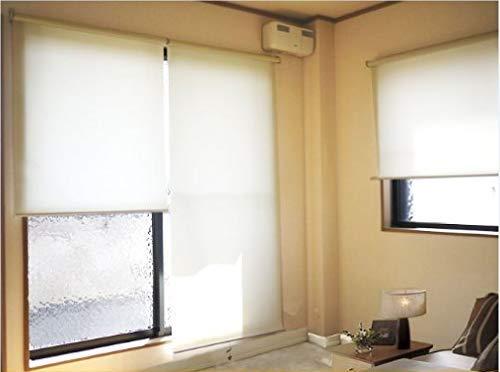 Zen 幅180cm×丈220cm ブラウン色 ロールスクリーン