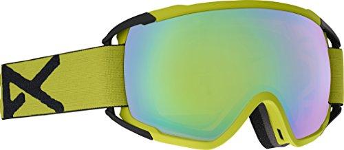 Anon(アノン) スノーボード スキー ゴーグル メンズ CIRCUIT Yellow/SONAR Green By ZEISS 185461 アジアンフィット 球面 ハイコントラストレンズ