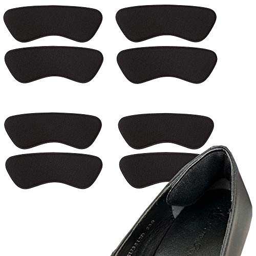 [スリーケー] 日本製 パカパカ&靴擦れ防止かかとパット4足セット シリーズ ブラック フリーサイズ
