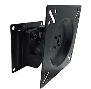 VESA規格 角度調整可能 14型~22型 対応 液晶テレビ PC モニター ディスプレイ アーム 壁掛け スタンド 金具 ブランケット 上下左右 角度 変更 フリー