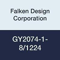 "FalkenデザインGY2074-1-8 / 1224アクリルグレースモークシート、透明13%、12""x 24""、1/8""厚"
