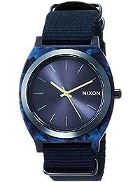 [ニクソン]NIXON TIME TELLER ACETATE: ALL BLUE NA3272490-00 【正規輸入品】