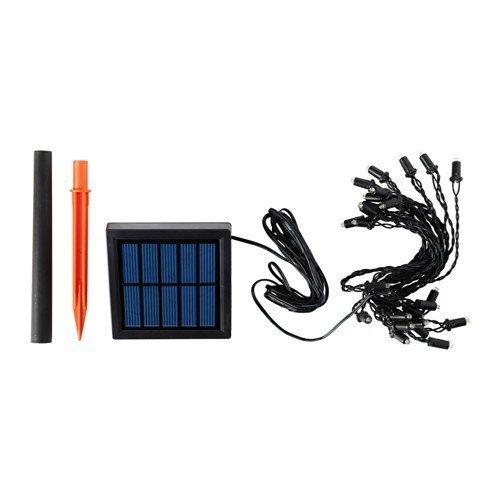 RoomClip商品情報 - SOLARVET LEDライトチェーン 全24球, 屋外用, 太陽電池式 (102.996.41)