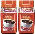 Dunkin Donut ダンキンドーナツ コーヒー (ヘーゼルナッツ) 340g x 2パック [並行輸入品]