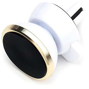 SmartTap 車載ホルダー マグネット式 Easy Magnet ホワイト/ゴールド L0556