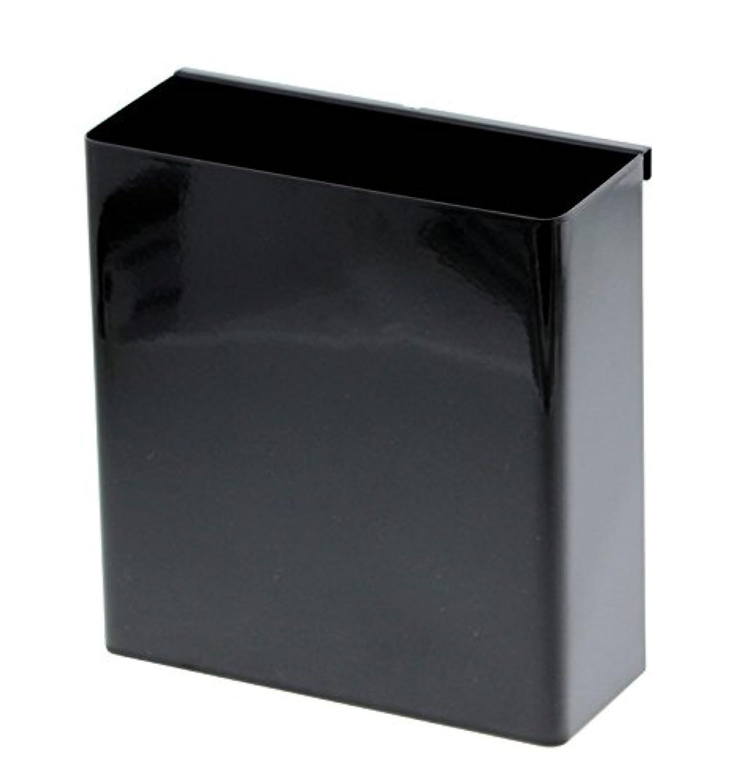 山崎実業 コンロ横ラック キッチンツールホルダー 自立式メッシュパネル用 ツールホルダー タワー ブラック 4194