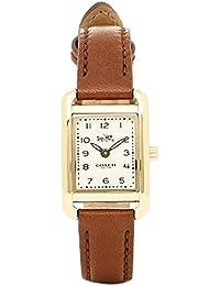 [コーチ] 腕時計 COACH 14502297 ブラウン ゴールド ホワイト [並行輸入品]
