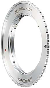 K&F Concept レンズマウントアダプター KF-PBEF (プラクチカBマウントレンズ → キャノンEFマウント変換)