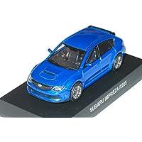 京商 1/64 スバル ミニカーコレクション インプレッサ R205 青メタリック
