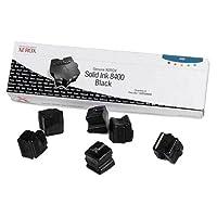 CompAndSave 交換用 ゼロックス 108R00608 / Phaser 8400 OEM ブラックソリッドインク 6パックカートリッジ