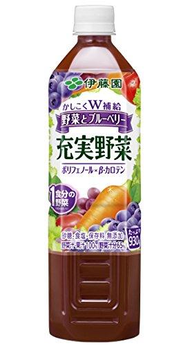 充実野菜 ブルーベリーミックス PET 930g×12本入