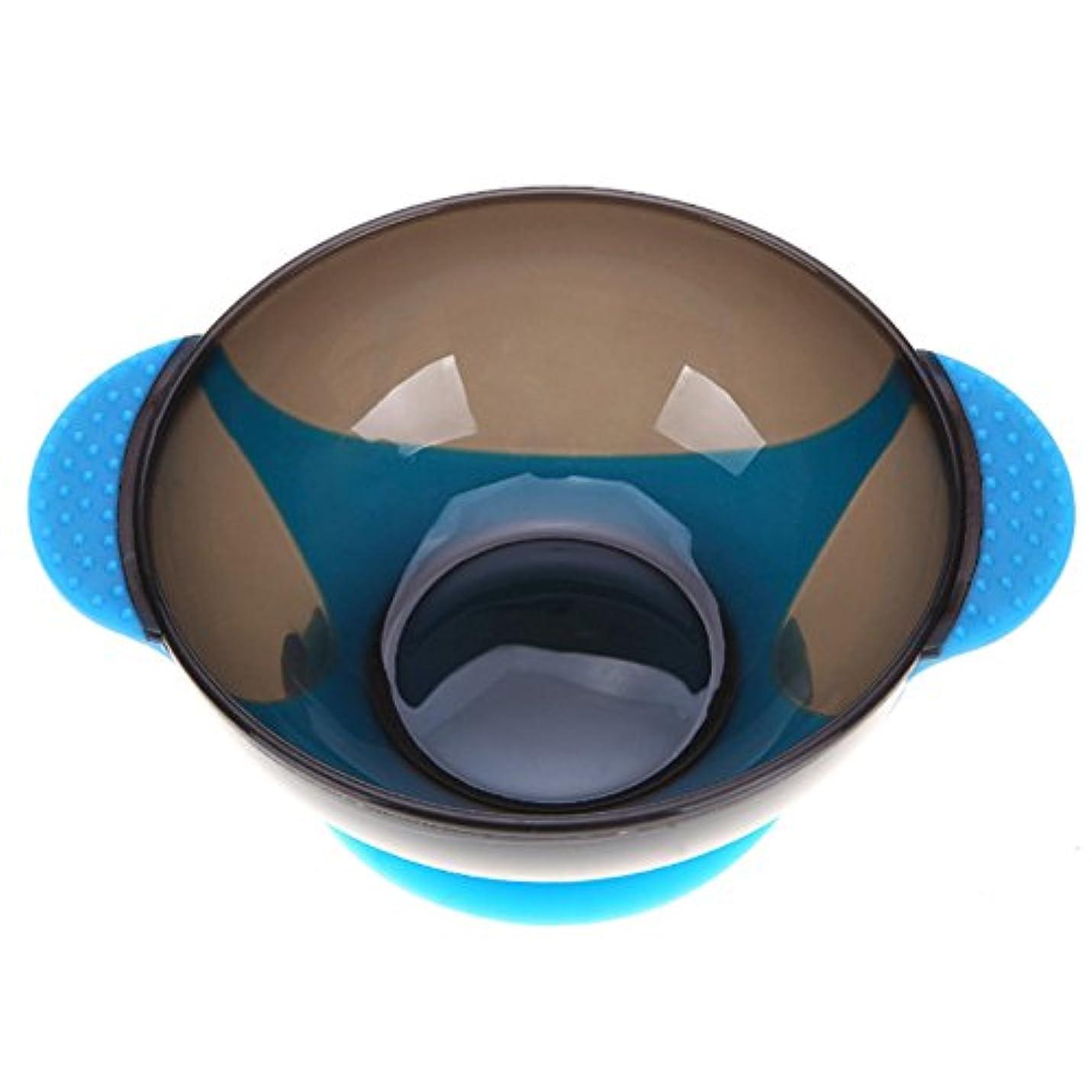 連結する枠乏しいTerGOOSE ヘアダイボウル ヘアカラー ヘアカラーカップ ボウル ミキサー 髪染め おしゃれ染め プロ サロン 美容 着色 ブルー