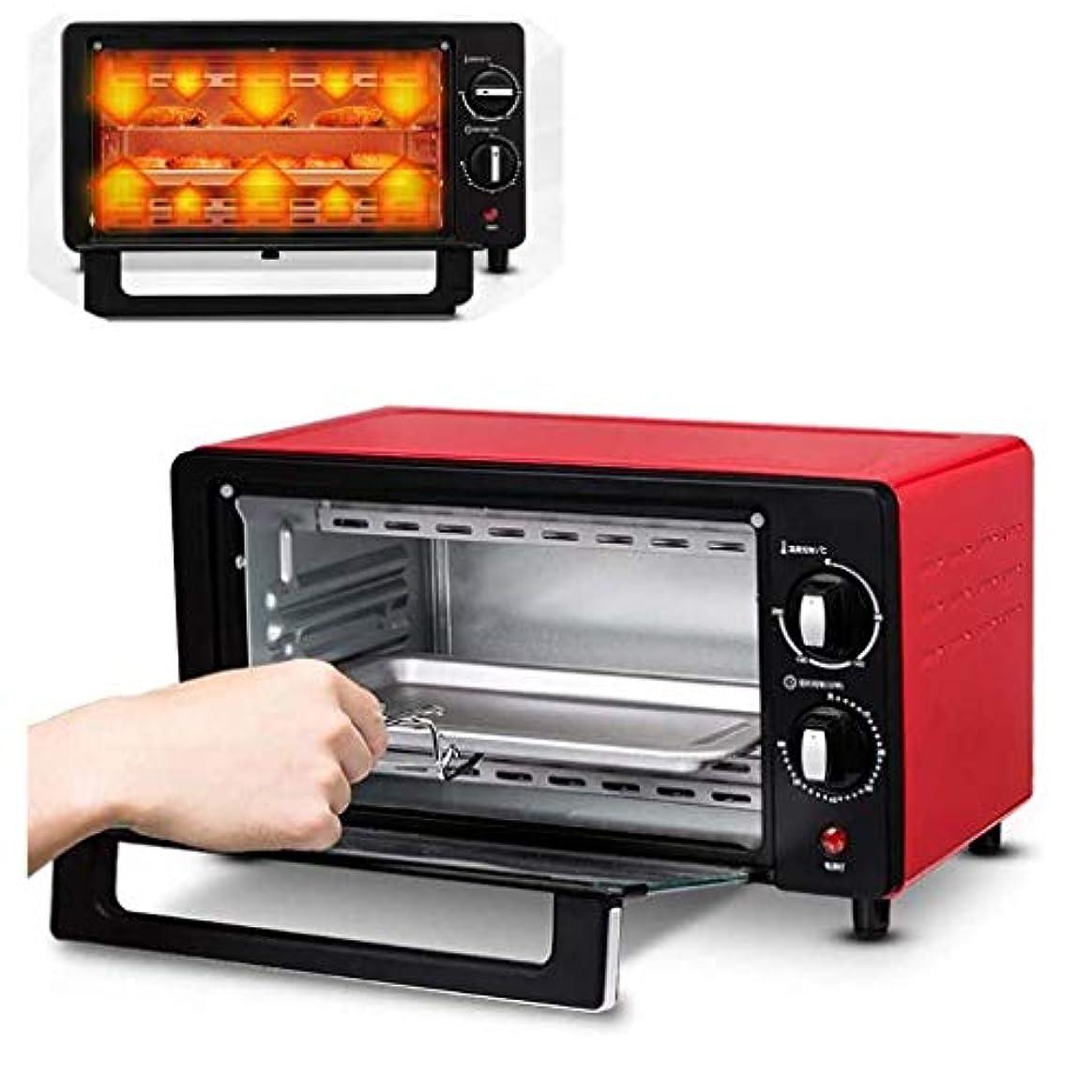 清める見てクリークミニキッチンオーブン電気炊飯器とグリルブラックミニオーブン&グリル、多機能10 l容量電気オーブン60分のタイミング