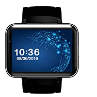 LQHLP 3G スマートウォッチカード WiFiアプリケーション ダウンロードGPSポジショニングナビゲーション ビッグカラースクリーン Androidフォンウォッチ ファッションカップルウォッチ ブラック LQHLP