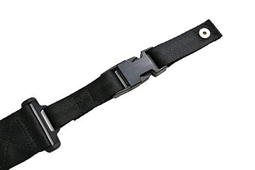 DIMARZIO ディマジオ / ストラップ クリップロック ( 強化ナイロン ブラック Black ) [ DD2200 BK ] 【国内正規品】