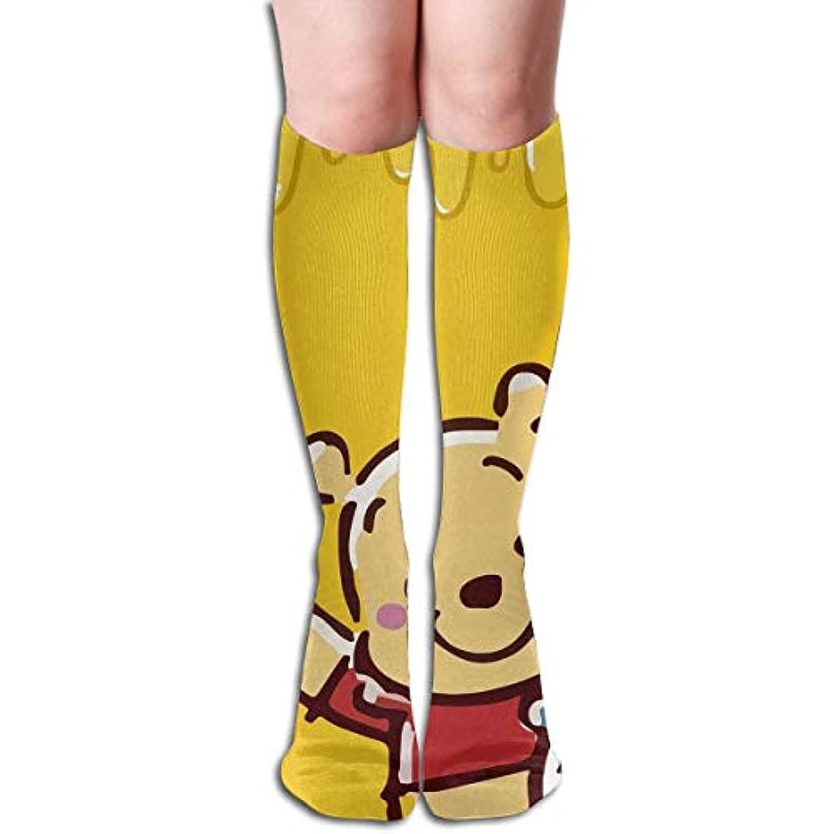 形成単に一緒ハニーチューブストッキングレディース冬冬暖かい膝ハイソックスブーツ靴下で