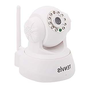 TENVIS- JPT3815W 2013版無線IPカメラ30万画素WIFI ホワイト