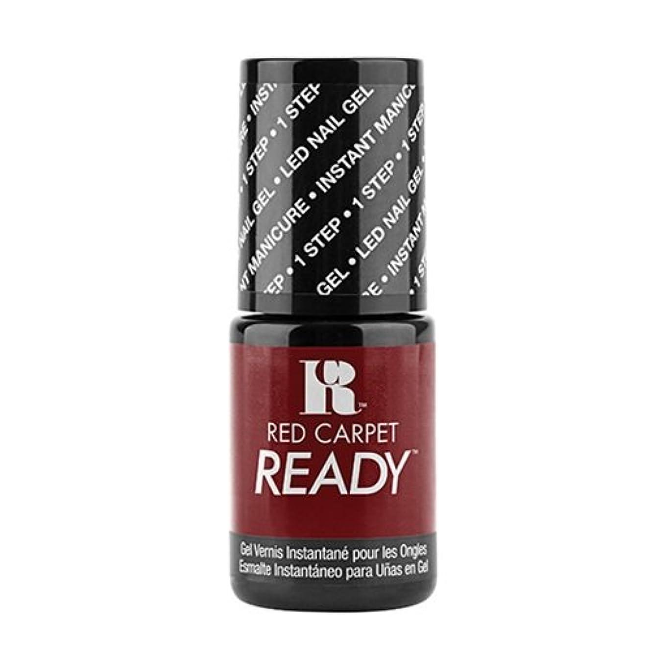 極めて重要な丁寧暴露するRed Carpet Manicure - One Step LED Gel Polish - Polished Pout - 0.17oz / 5ml