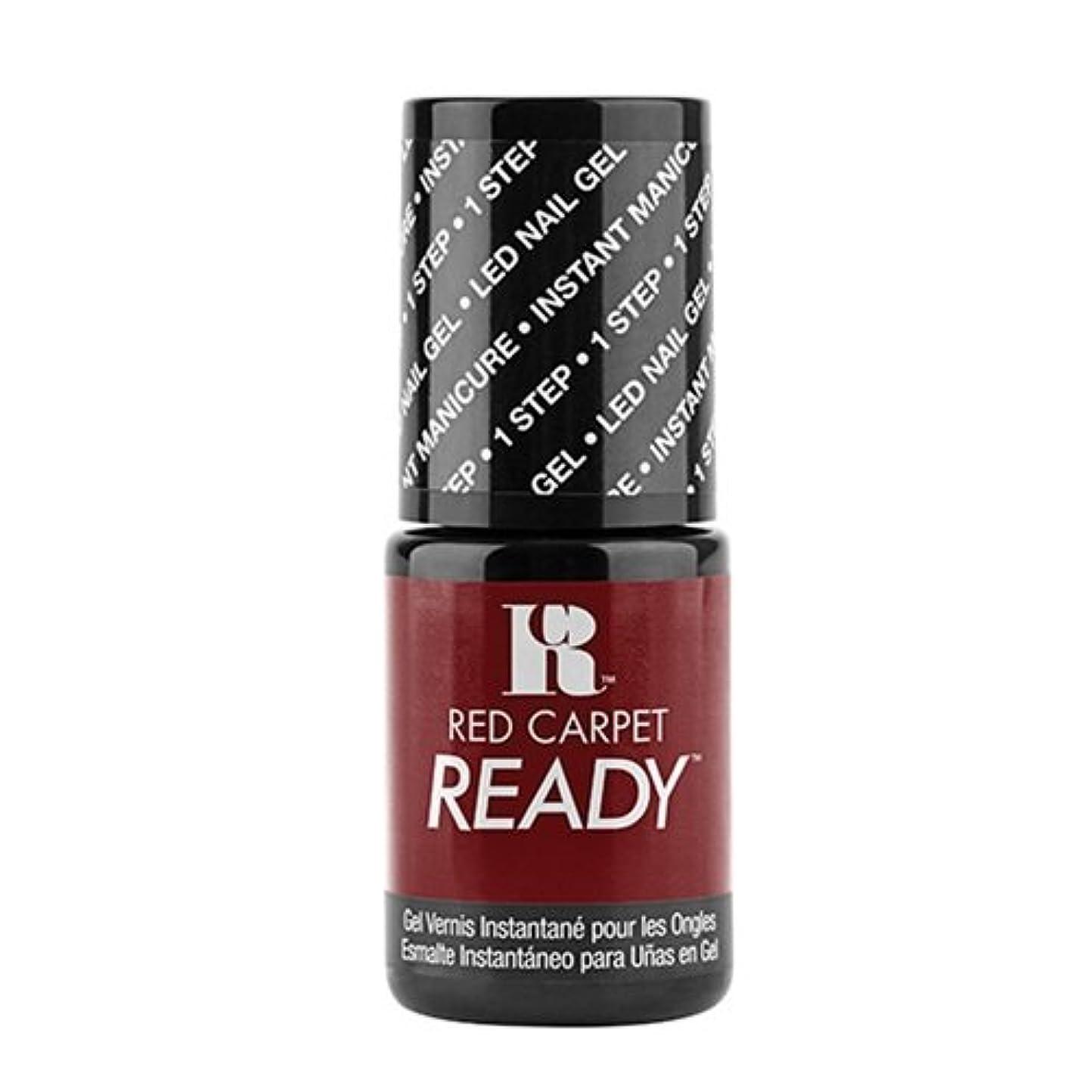 派手シュガー十億Red Carpet Manicure - One Step LED Gel Polish - Polished Pout - 0.17oz / 5ml