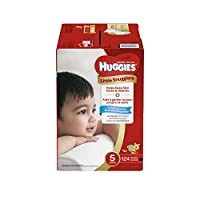 Huggies Little Snugglers Baby Diapers, Size 5, 124 Count (Packaging May Vary) (One Month Supply) by Huggies