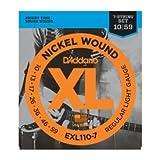 D'Addario ダダリオ EXL-110-7 7弦 Regular Light(10-59) EXL110-7 エレキギター弦【国内正規品】