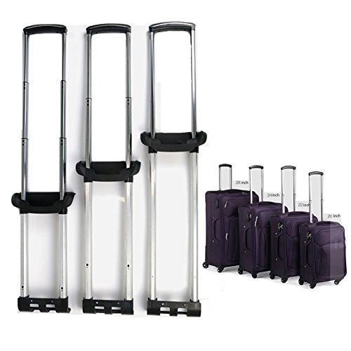 崇明 スーツケース 伸縮 ハンドル 修理 部品 キャリーバッグの伸縮ロッド 旅行ラゲッジのパーツ キャリーバッグ 取り替え伸縮ロッド 交換 DIY (20 inch)