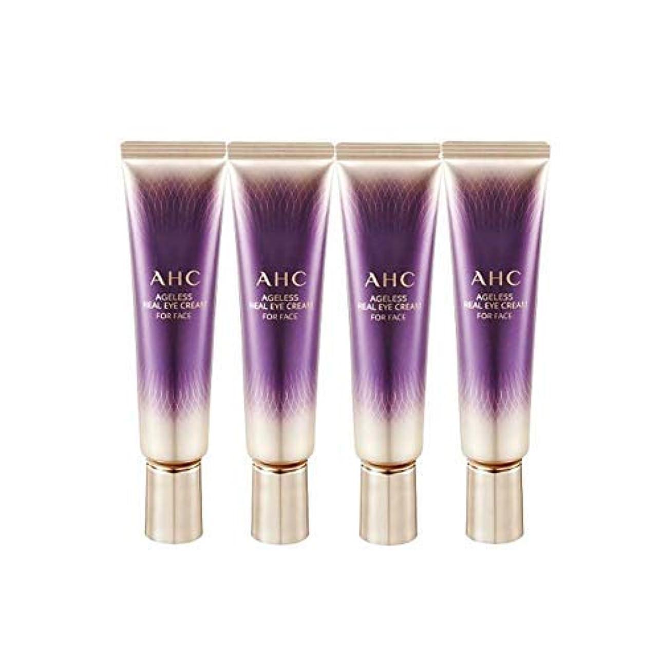 月曜手書き立ち寄るAHC 2019 New Season 7 Ageless Real Eye Cream for Face 1 Fl Oz 30ml x 4 Anti-Wrinkle Brightness Contains Collagen