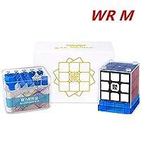 CuberSpeed MoYu Weilong WR M 3X3 ブラックスピードキューブ
