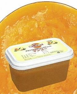 【グランベル】冷凍マンゴーピューレ(10%加糖)1kg