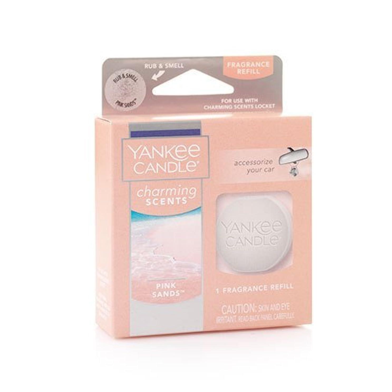 指導する悲惨経済的YANKEE CANDLE (ヤンキーキャンドル) ピンク サンド チャーミングセント フレグランス レフィル フレッシュな香り