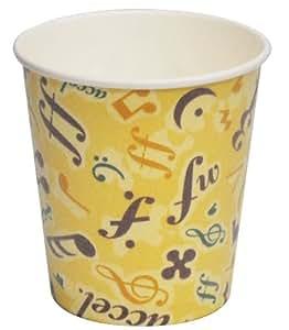 断熱加工の紙コップ カフェメロディ 250ml 50個組