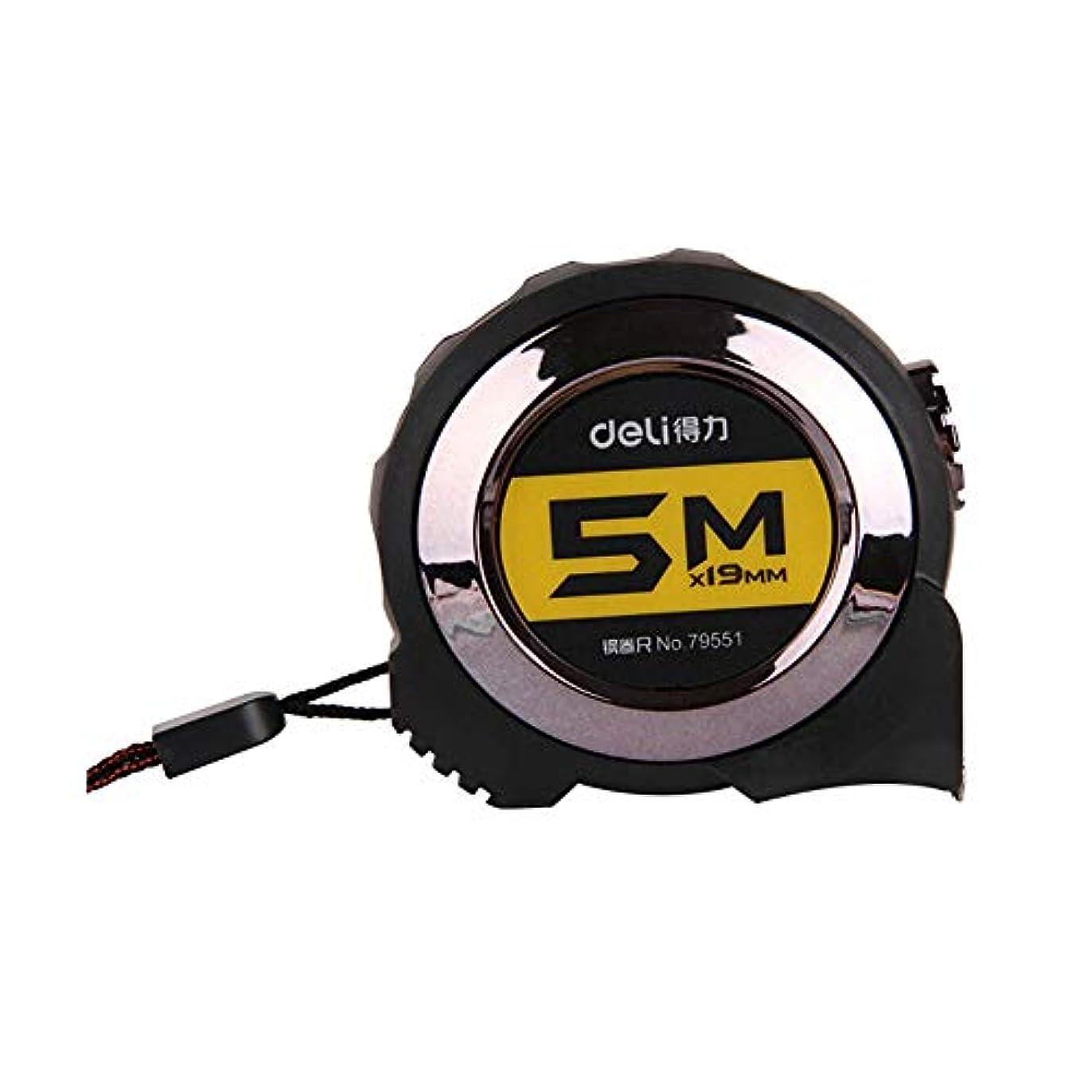ぎこちない内訳尊厳GUYUEXUAN 自動ロック式スチールテープメジャー、3m / 5m / 7.5m / 10mプルテープ、高品質 高品質、最高の贈り物 (Size : 5 meters)