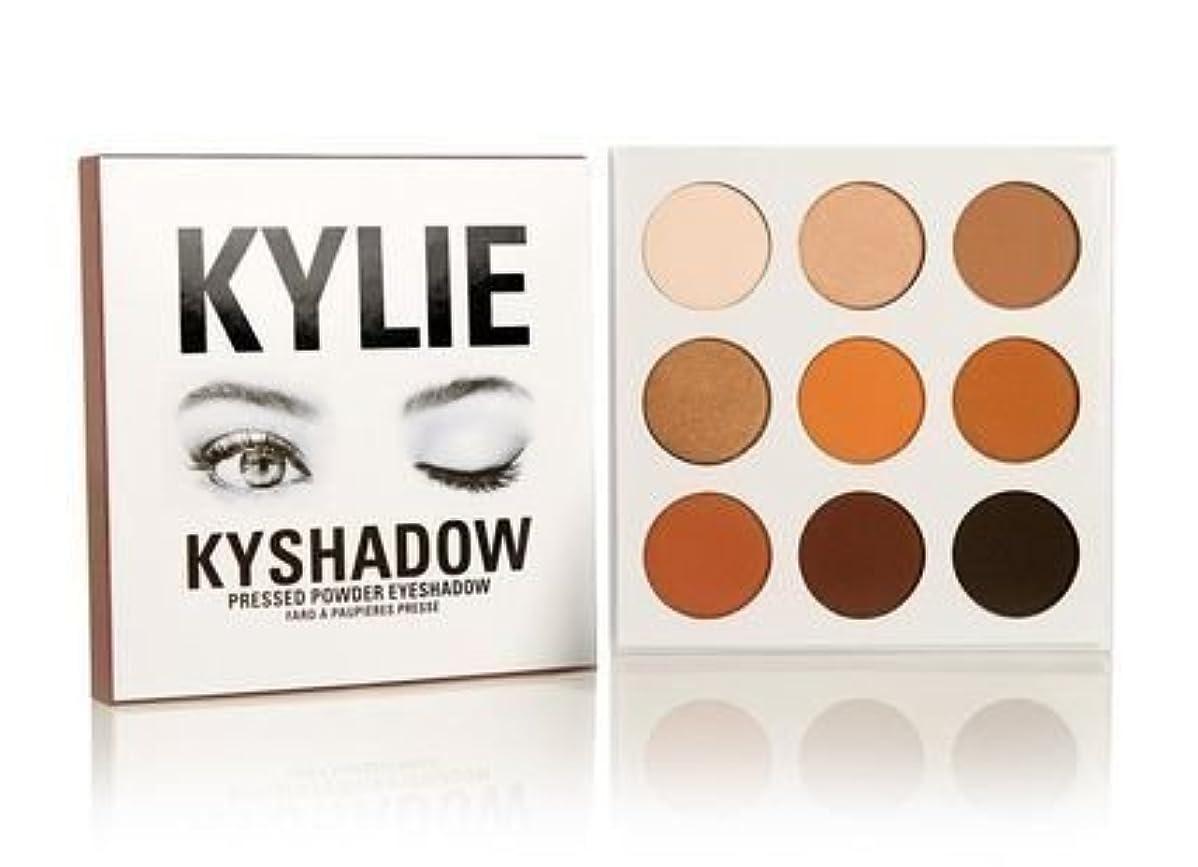ブレンド頑固な荷物Kylie Cosmetics(カイリーコスメティック)The Bronze Palette KYSHADOW 9色アイシャドウパレット 国内発送