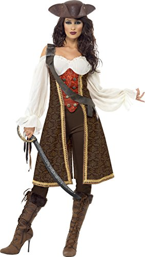 Smiffy's Women's High Seas Pirate Wench Costume [並行輸入品]