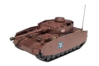 プラッツ ガールズ&パンツァー IV号戦車D型改(H型仕様) あんこうチーム 劇場版です! 1/35スケール プラモデル GP-20