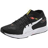 Puma Speed 500 Men'S Road Running Shoes, Puma Black-Puma White-Nrgy Red