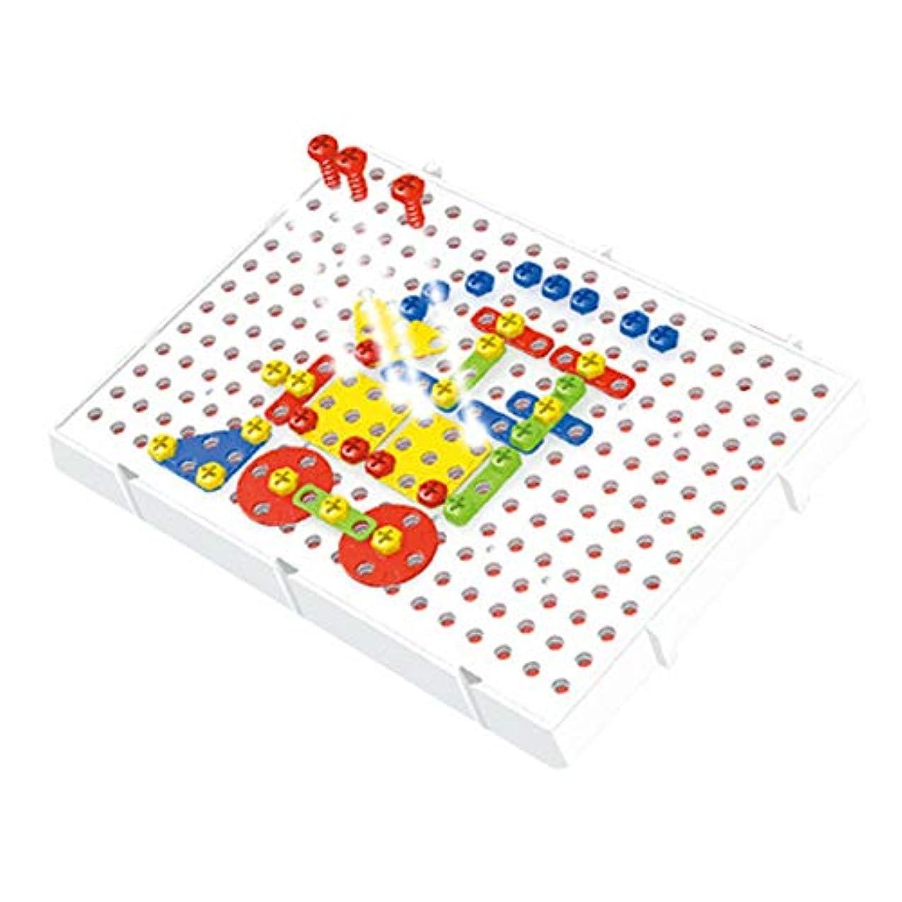 ペチュランス入場料砲兵hownnery 78pcsキッズスクリューパズルゲームおもちゃ知的訓練教育親子プレイ