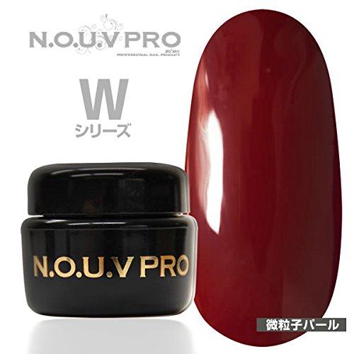 NOUV PRO カラージェル レッドローズ W01