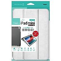 Digio2 iPad mini 2019 / iPad mini4 用 ハニカム衝撃吸収ケース シルバー TBC-IPM1904SL