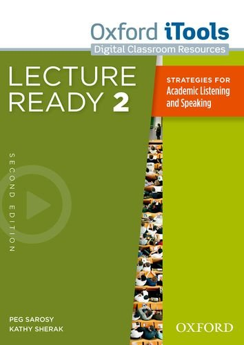 lecture ready chapter 4 From $1999 3 used from $5217 4 new from $1999 lecture ready prepares students to deal with academic lectures with skill and confidence students attend actual lectures via dvd or video after practice with targeted lecture language.