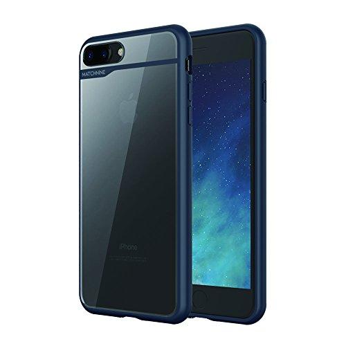 818bca47dc Matchnine iPhone 8 Plus / 7 Plus ケース BOIDO ネイビーブルー&ハーフミラー(マッチ amazon