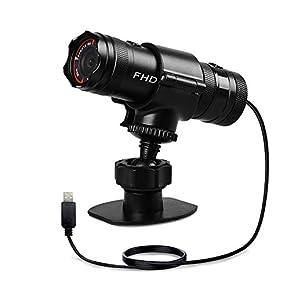 【Amazon.co.jp 限定】自転車 バイク 二輪車 ドライブレコーダー 32GB micro SDカード同梱 IP65防水 Sony IMX323 200万画素 120°広角度 Full HD 1080P WDR搭載 エンジン連動 常時録画可能 高画質 録画 撮影 取扱簡単 AKY-610