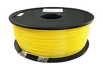 Qidiテクノロジーイエロー1.75ミリメートルPLA材料