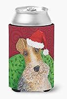 Caroline's Treasures VHA3040CC ワイヤー フォックス テリア クリスマス 缶またはボトル ハガー コールド飲料 クージー CC マルチカラー