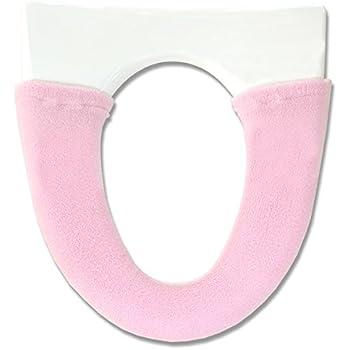 オカ 便座カバー ピュアコロン 洗浄暖房型 ピンク 抗菌 防臭