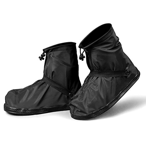 Sheltons 防水 防風 シューズカバー 靴カバー 滑り...