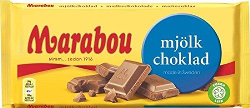 Marabou マラボウ ミルク 板チョコレート 200g スゥエーデンのチョコレートです [海外直送品] [並行輸入品]