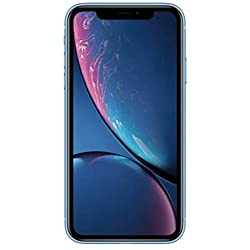 2018 Apple アップル iPhone XR 6.1型 LCD版 SIMフリー【米国正規品】 (64GB, ブルー) [並行輸入品]