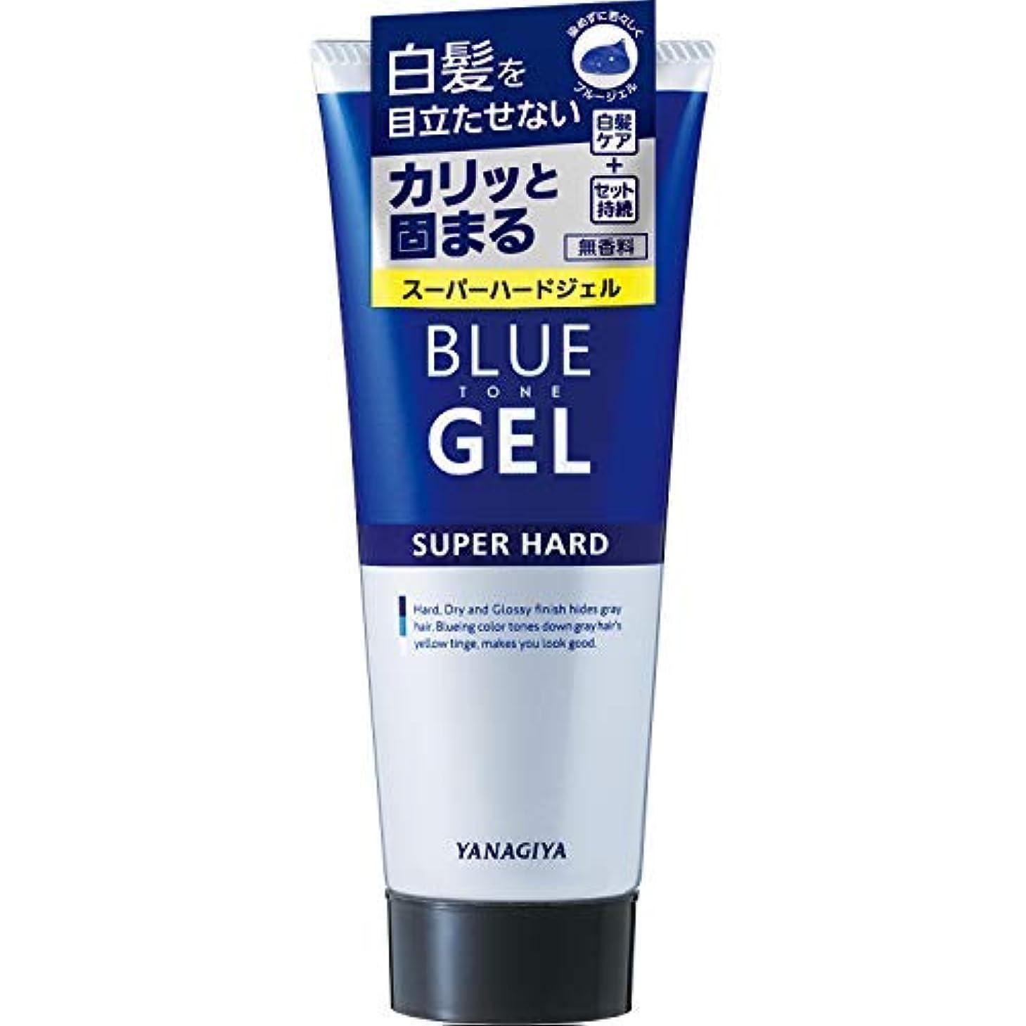 平方アトムアナログブルートーン 白髪用ジェル <スーパーハード> × 6個セット